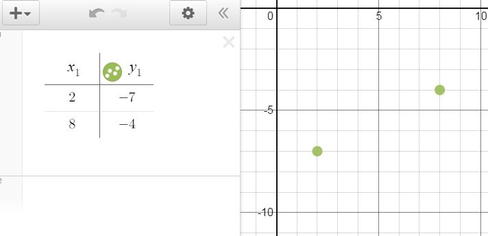 how to find slope of a line desmos