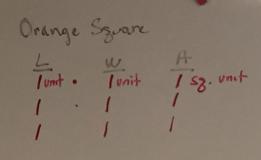 Orange sq chart