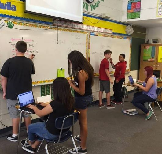 Rethinking Classroom Design ~ Capture communicating mathematically