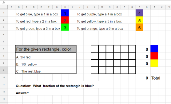 Multiplication Question 2 on Google Sheets