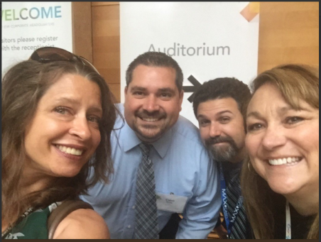 A picture of the Redlands Unified Instructional Tech Team