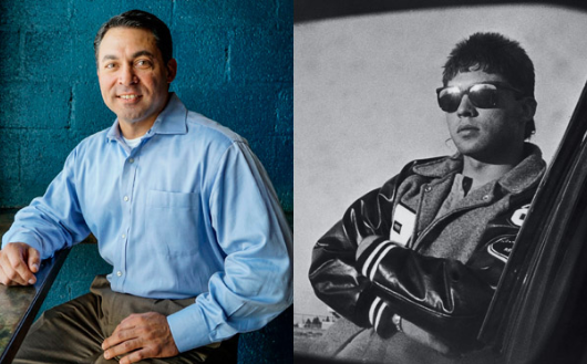 Left: Don Billingsly (2015) Right: Don Billingsly (1988)